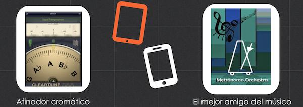 Infografías 6 Apps muy útiles para músicos