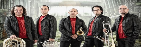 Metales Gran actuación de Spanish Brass en Gijón