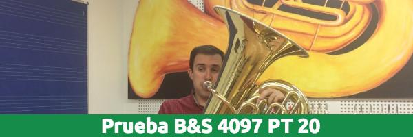 Análisis Análisis Tuba B&S 4097 PT 20