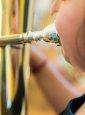 Consejos respiratorios para jóvenes músicos de viento metal