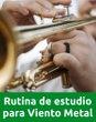 Curso de Rutina de Estudio para músicos de viento metal