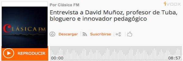 Educación Entrevista en Clásica FM Rádio