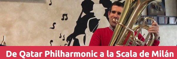 Entrevistas De Qatar Philharmonic a la Scala de Milán con Javier Castaño