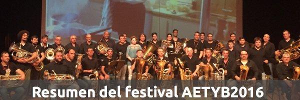 Eventos Festival AETYB2016 en Valencia