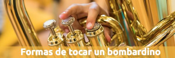 Tuba y bombardino Debate: Las dos formas de tocar un bombardino