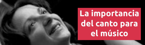 Entrevistas La importancia del canto para el músico con Isabel Villagar