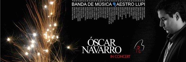 Eventos Óscar Navarro junto a la Banda Maestro Lupi de Benavente