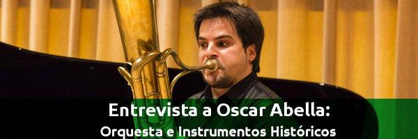 Entrevistas Pruebas de Orquesta e Instrumentos Históricos con Oscar Abella.