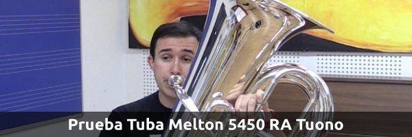 Análisis Prueba Tuba  Melton 5450 RA Tuono
