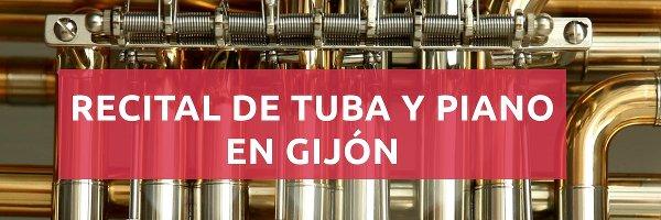 Eventos Recital de tuba y piano en Gijón
