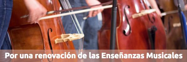 Educación Por una renovación de la Enseñanzas Musicales