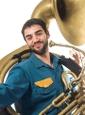 Tocando el Sousa en Los Artistas del Gremio con Ángel Jimenez