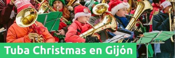 Eventos Tuba Christmas en Gijón