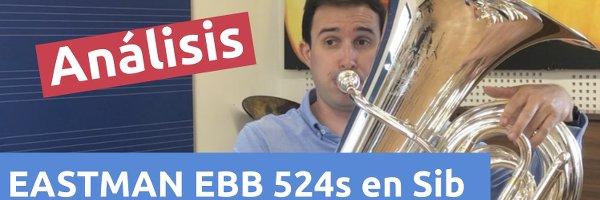 Análisis Tuba EASTMAN 524s en Sib